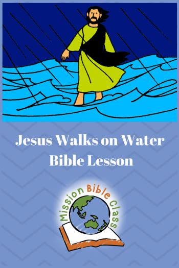 Preschool Jesus Walks On Water