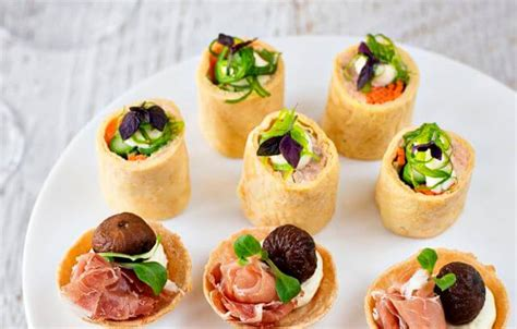 canapes finger food canapé cocktail finger food catering brisbane
