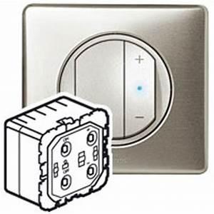Interrupteur Variateur De Lumiere : interrupteur variateur legrand c liane 600w 067082 ~ Farleysfitness.com Idées de Décoration