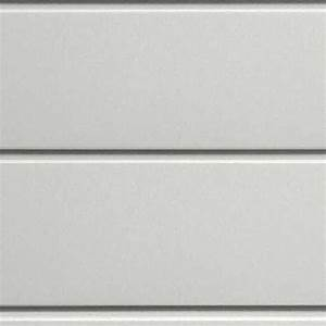 White metal facade cladding texture seamless 10193