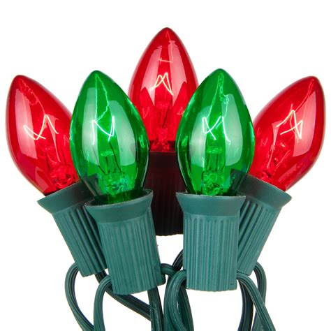 christmas lights  green red commercial christmas lights