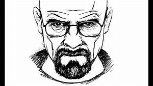 How To Draw Walter White