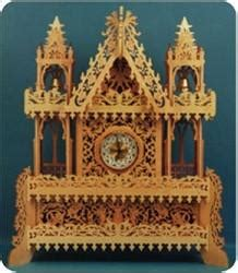 bell clock tower advanced scroll  pattern scrollsawcom
