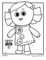 Toy Coloring Story Dolly Pages Printable Characters Disney Cartoonjr Colouring Toys Sheets Drawing Books Mattress Bed Draw Thepartyanimal Activities Printables sketch template
