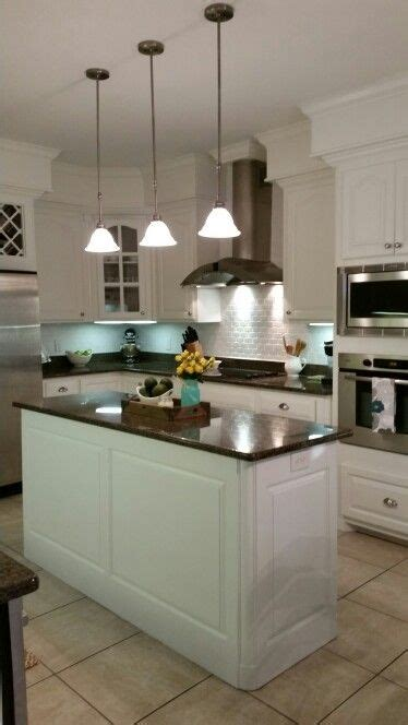 home depot kitchen makeover our kitchen makeover sherwin williams alabaster cabinets 4261