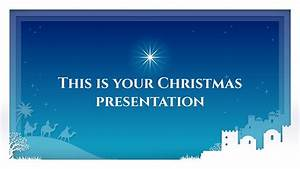 Free Christmas Powerpoint Template  U0026 Google Slides Theme