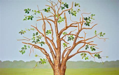 custom handpainted muralshand painted treestree murals