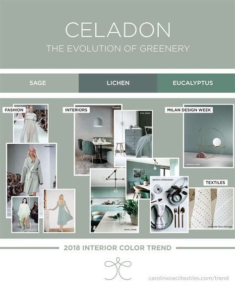 interior color trends for homes interior color trends 2018 ss18 aw18 greenery