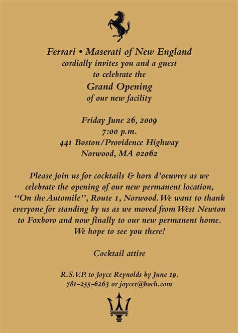grand opening invitation designstormes