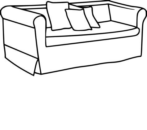 but canape coloriage canapé et dessin à imprimer