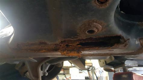 chrysler pacifica cradle rusted  complaints