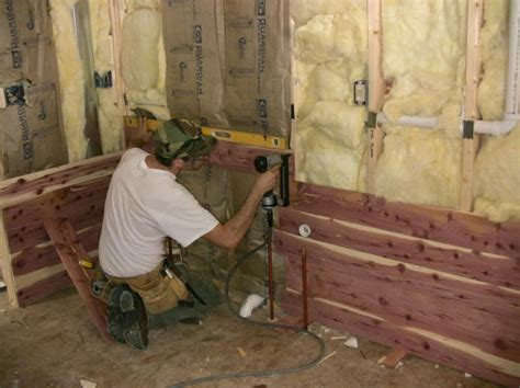 building your home with your own wood