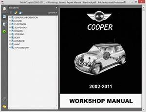 Mini Cooper  2002-2011    Repair Manual