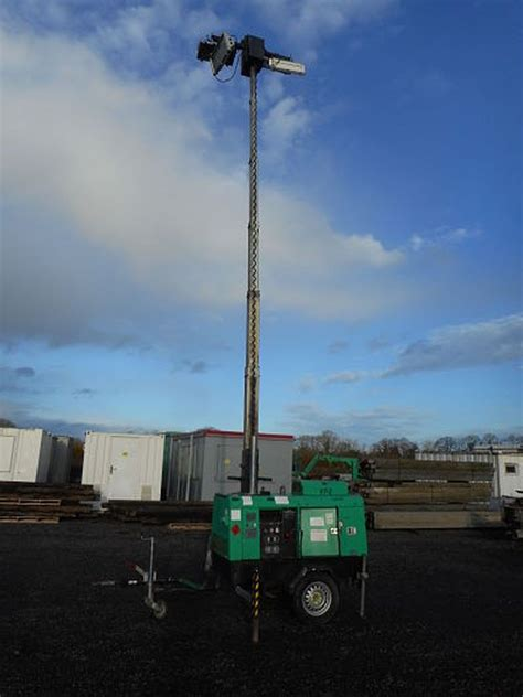 Light Tower For Sale by Secondhand Plant Tools And Equipment Lighting Towers