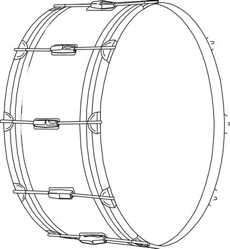 drum clip art  clkercom vector clip art