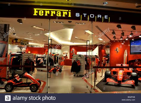 ferrari store wynn hotel casino macau china stock photo