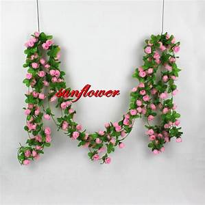 Wall home party wedding decor artificial flower rose leaf