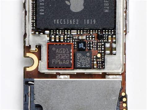 gyroscope on phone iphone 4 gyroscope chip teardown
