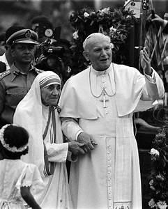 John Paul II & Mother Teresa | Pope | Pinterest