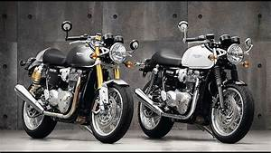 Thruxton R 1200 : 2016 new triumph thruxton 1200 thruxtonr 1200 first photos youtube ~ Medecine-chirurgie-esthetiques.com Avis de Voitures