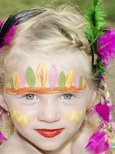 Maquillage Enfant Facile : maquillage indien et indienne ~ Melissatoandfro.com Idées de Décoration