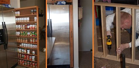 How To Make A Pantry Out Of A Bookcase by How To Build A Pull Out Pantry Cabinet Home Design