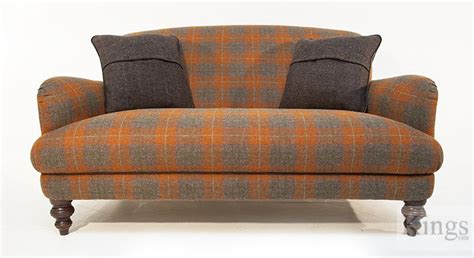Harris Tweed Settee by Tetrad Tweed Sofa Interior Designs Upholstery Fabric
