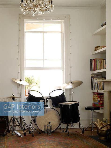 gap interiors living room  drum kit image