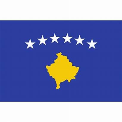 Kosovo Flag Fahne Vecteur Drapeau Sticker Dass