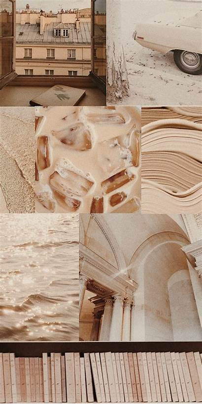 Aesthetic Beige Wallpapers Background Brown Backgrounds Pastel