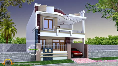 Modern Indian Home Design  Kerala Home Design And Floor Plans