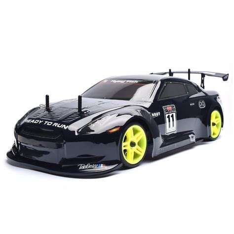 ᐂhsp rc car 1 10 scale 4wd 4wd nitro gas power on on road touring racing remote car