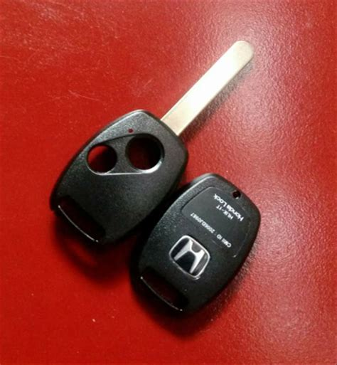 jual casing kunci mobil honda dua tombol casing remot