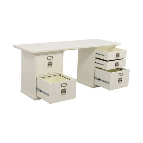 pottery barn bedford desk used 76 off pottery barn pottery barn bedford white desk