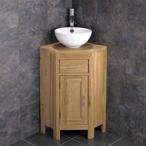 mm  basin alta cloakroom corner  door oak