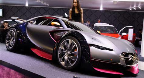 Citroen Survolt Sports Car Concept Debuts At 2010 Geneva Show