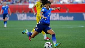 Christen Press, Julie Foudy reveal women's soccer's ...