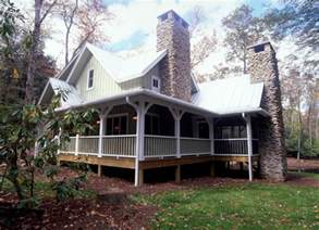 Stunning Small Farmhouse Plans With Porches Photos by Branch Cabin Farmhouse Plan 082d 0065 House Plans