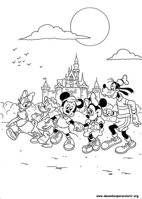 desenhos  colorir mickey