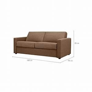 canape lit quito 140x190 marron decouvrez nos canapes With canapé lit 140x190