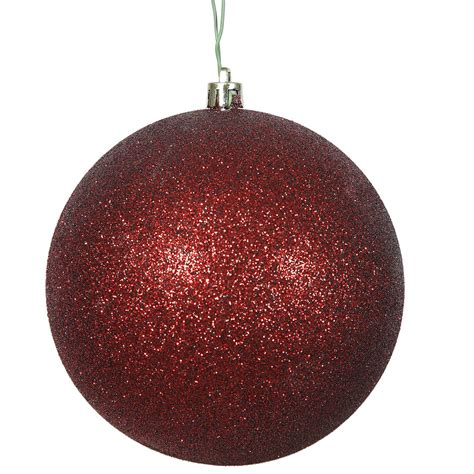 winterland inc glitter ball ornaments glitter decorations billingsblessingbags org