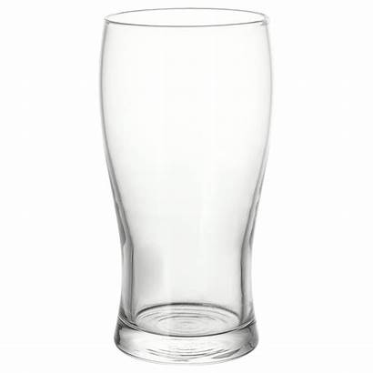 Glass Beer Ikea Clear