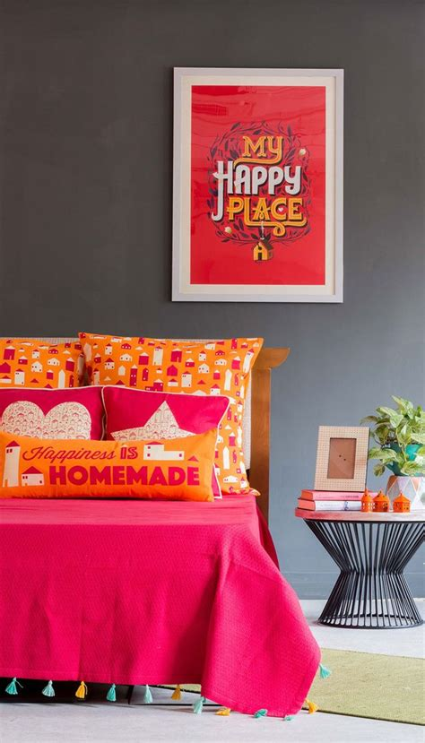 buy happiness  homemade bed cover  chumbak