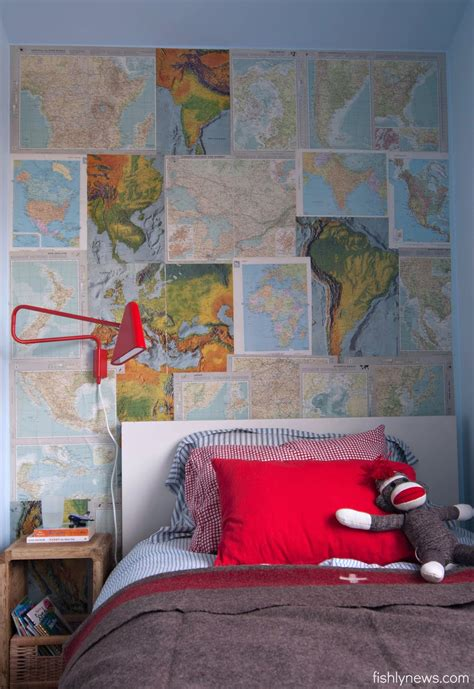 wallpaper design for wall vintage map wall honest to nod 6970