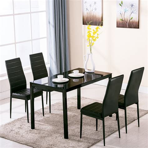 interesting dining room glass tables and chairs images