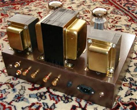 kt single ended tube amp build diy audio projects