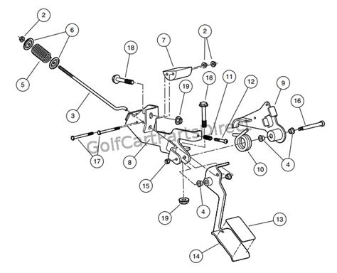 Club Car Xrt Part Diagram by 2008 Club Car Xrt 1550 Or Carryall 295 Club Car Parts