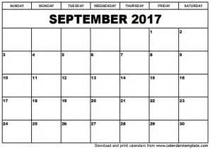 september 2017 calendar template weekly calendar template
