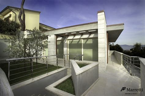 ringhiera per esterno exterior metal banisters in stainless steel by marretti