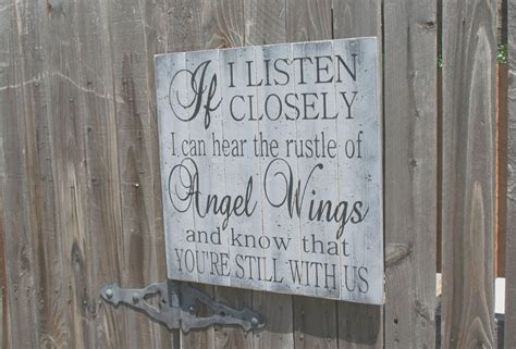 Listen Closely Can Hear The Rustle Angel Wings